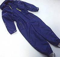 Детский лыжный комбинезон фиолетового цвета