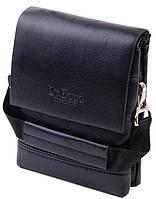 Мужская сумка-планшет искусственной кожи dr.Bond A8813-0 black