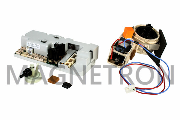 Ремкомплект (кофемолка, модуль управления SW1.07, расходомер, прокладки) для кофемашин Bosch 653308 (code: 18265)