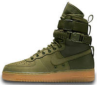 Мужские кроссовки Nike Special Forces Air Force 1 Green
