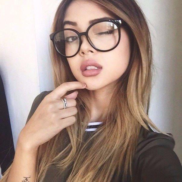 Круглые имиджевые очки чёрная оправа 489b50ef8ff69