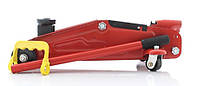 Домкрат гидравлический подкатной 2т ДК FJ-02 PVC / 330мм / пластик 7,5кг
