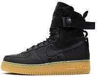 Мужские кроссовки Nike Special Forces Air Force 1 Black