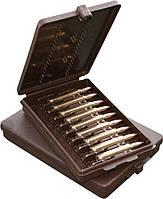 Коробка MTM Ammo Wallet на 9 патронов калибр 223 Rem  коричневый