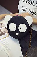 Сумка кроссбоди Панда Черная, фото 1