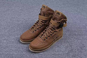 Мужские кроссовки Nike Special Forces Air Force 1 Gum Light Brown 857872-200, Найк Аир Форс, фото 2