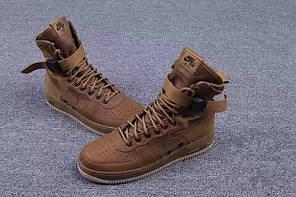 Мужские кроссовки Nike Special Forces Air Force 1 Gum Light Brown 857872-200, Найк Аир Форс, фото 3