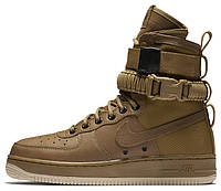 Мужские кроссовки Nike Special Forces Air Force 1 Brown
