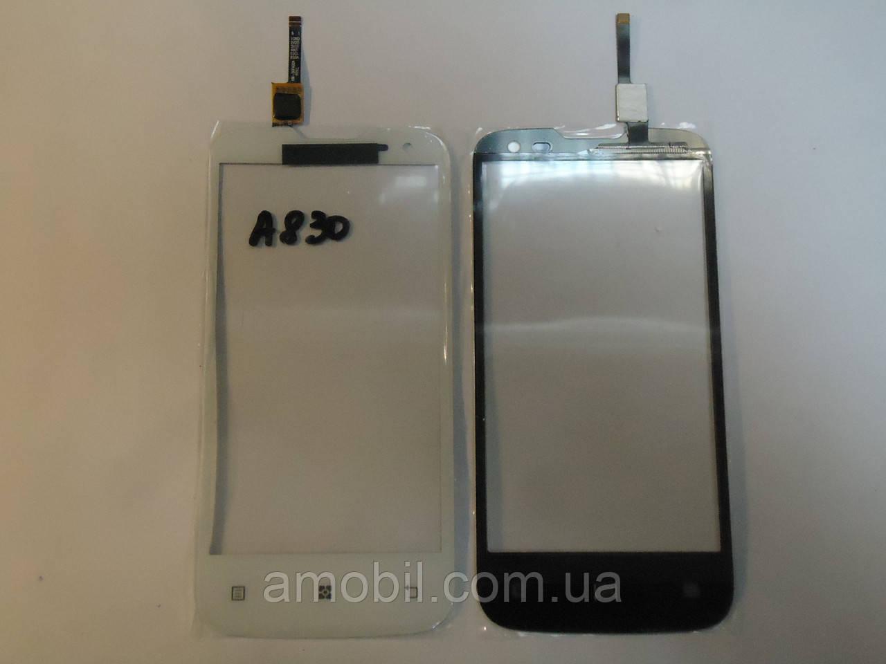Сенсор Lenovo A830 White orig