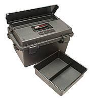 Коробка универсальная MTM Sportsmen's Plus Utility Dry Box с плечевым ремнем черный