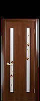 """Двери межкомнатные """"Новый Стиль-Вера"""" рисунок 1  орех"""