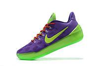 Мужские баскетбольные кроссовки Nike Kobe 12 AD (Purple/Lime) , фото 1