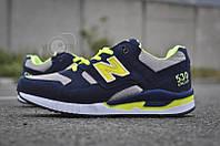 Кроссовки мужские New Balance 530 Blue Yellow