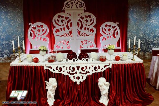 8f23538d7942d71 Свадебные аксессуары, свадебный декор из пенопласта -