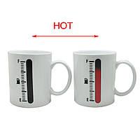 Чашка-хамелеон Термометр