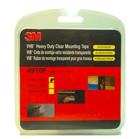 Двухсторонний скотч 3М VHB 4910F прозрачный 9 мм x 5 м