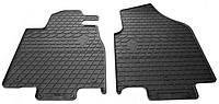 Резиновые передние коврики для Acura MDX II 2006-2014 (STINGRAY)