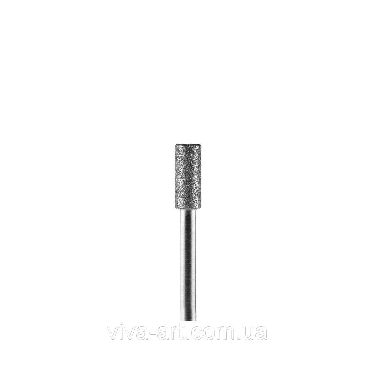 Алмазная насадка цилиндр, 3.3 мм, средний абразив, Diaswiss (Швейцария)