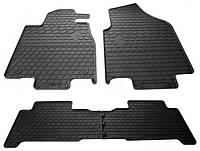 Резиновые коврики для Acura MDX II 2006-2014 (STINGRAY)