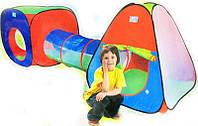 Палатка детская игровая с тоннелем 999-148, фото 1