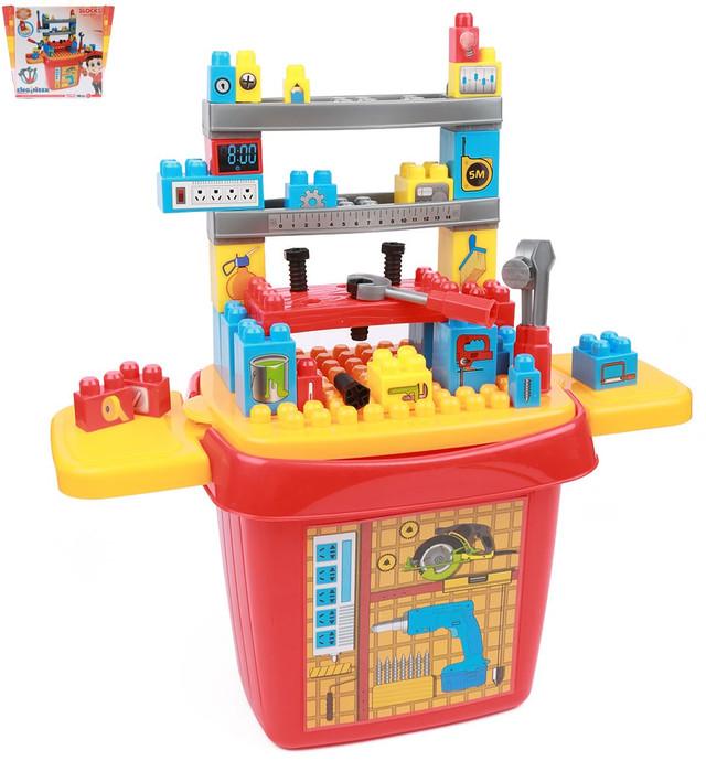 Игровой набор конструктор Инструменты 8424
