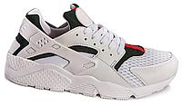 Кроссовки для женщин  Nike Air Huarache (white/green/red) - 05w беговые