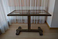 """Кофейный столик """"Wood'n'Glass"""""""