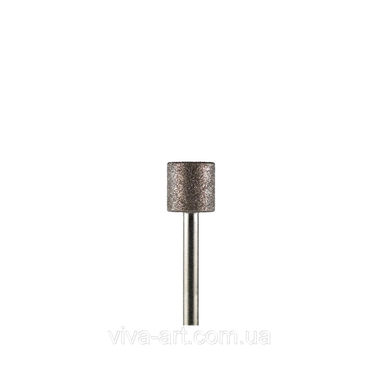 Алмазна насадка циліндр, 7 мм, середній абразив, Diaswiss (Швейцарія)