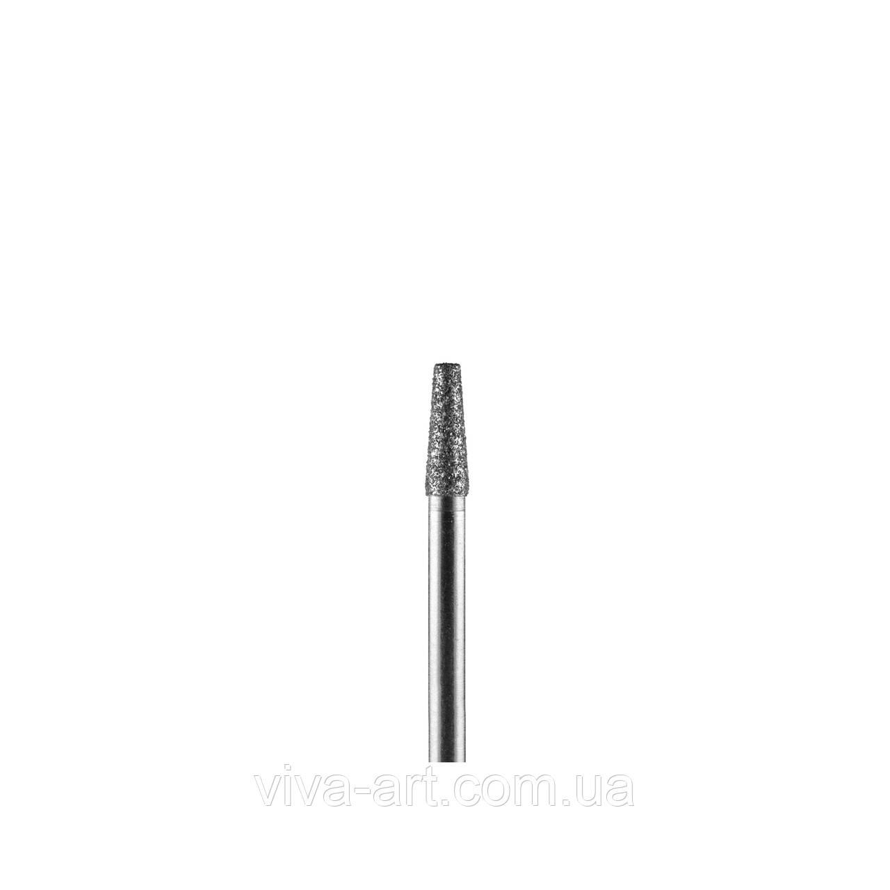 Алмазна насадка усічений конус, 2.5 мм, середній абразив, Diaswiss (Швейцарія)