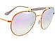 Солнцезащитные очки Ray-Ban Round Lilac Gradient Flash B35401987X56, фото 4