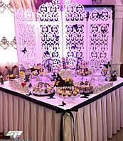 Свадебные аксессуары и свадебный декор: объемные буквы из пенопласта, арки, ширмы, стойки, рамки, фото 1
