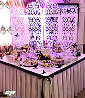 Свадебные аксессуары и свадебный декор: объемные буквы из пенопласта, арки, ширмы, стойки, рамки