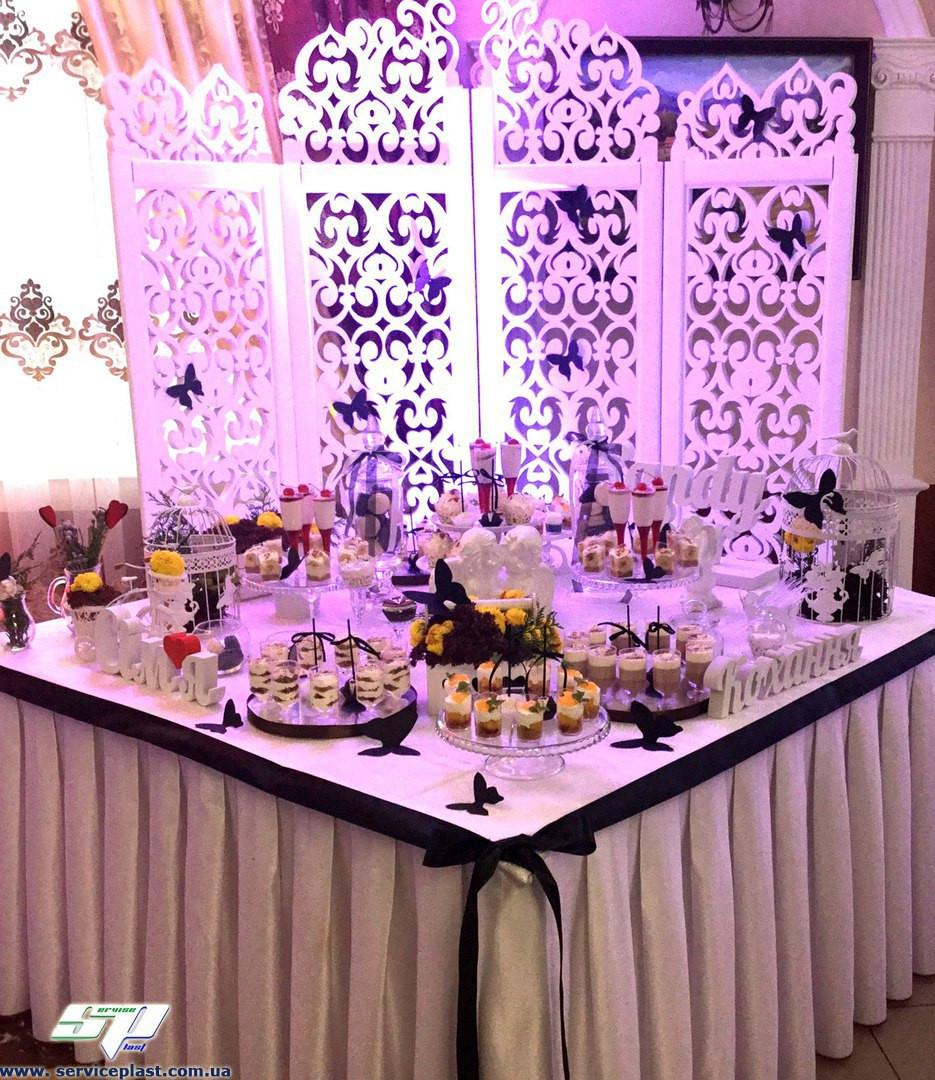 55dac7eca8a2355 Свадебные аксессуары и свадебный декор: объемные буквы из пенопласта, арки,  ширмы, стойки