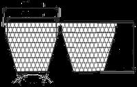 Ремень клиновой 2SPC-6700
