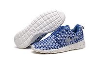 Кроссовки женские Nike Roshe Run Metric (blue/grey) - 61Z