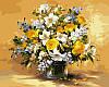 Раскраски для взрослых 40×50 см. Безупречная красота цветов Художник Фасани Пинторе