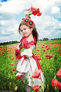 Дитячі вишиті плаття, вишиванки для дівчаток