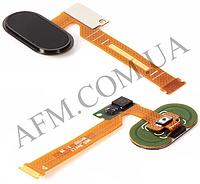 Шлейф (Flat cable) Meizu MX5,   с кнопкой Home,   чёрной
