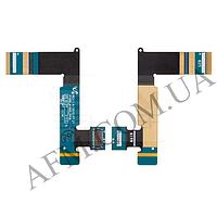 Шлейф (Flat cable) Samsung P1000 Galaxy Tab/  P1010,   межплатный с компонентами