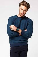Мужской свитер De Facto синего цвета, фото 1
