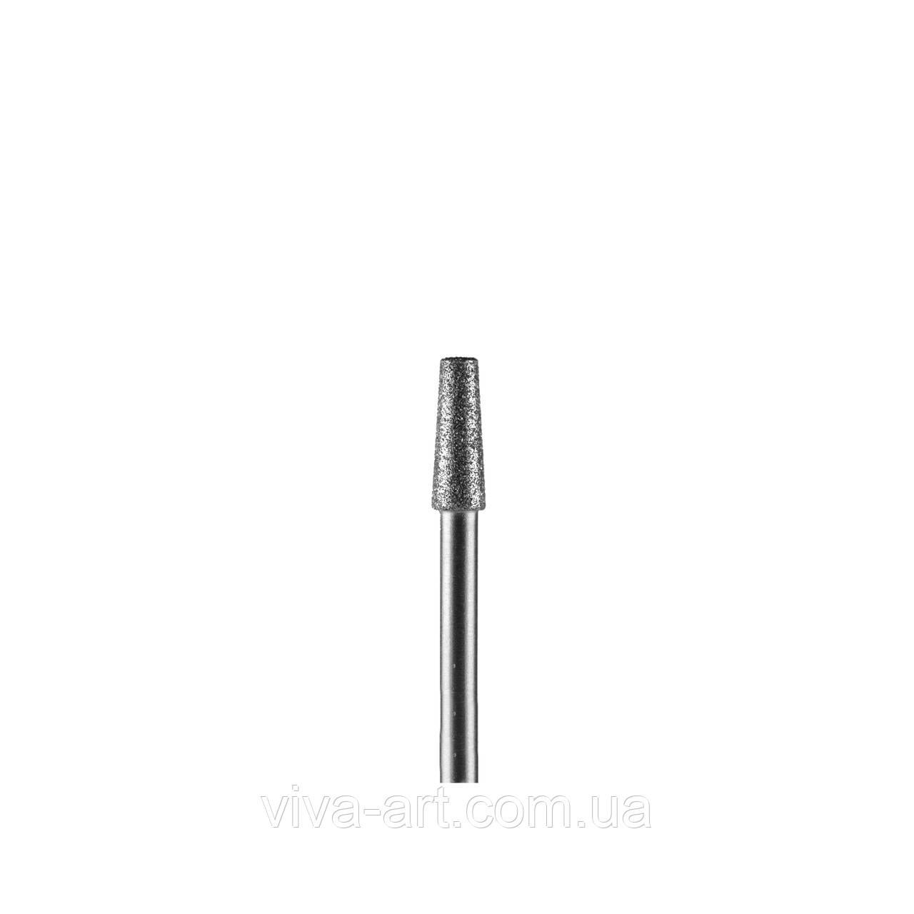 Алмазна насадка усічений конус, 3.3 мм, середній абразив, Diaswiss (Швейцарія)