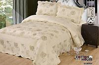 Велюровое покрывало с наволочками Cotton House 250*260 Elmira