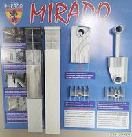 """Биметаллический радиатор для отопления """"Mirado"""" 96/500"""