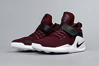 Женские кроссовки Nike Kwazi бордовые, фото 1