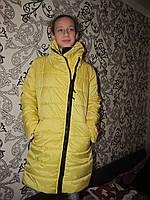 """Женская куртка """"уголок"""" синтепон 200"""