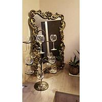 Зеркало в кованной раме Золото
