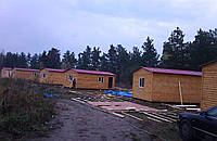 Домики для базы отдыха