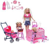 Кукольный набор Steffi с детьми Simba 5736350