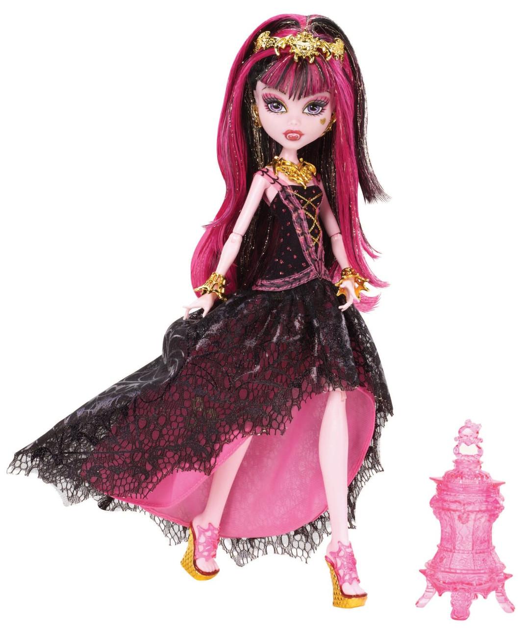Monster High Дракулаура из серии 13 Желаний 13 Wishes Haunt the Casbah Draculaura Doll