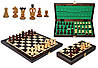 Шахматы коричневые Medium Kings Intarsia, Медиум Кингс Интарсия, Арт. 311205